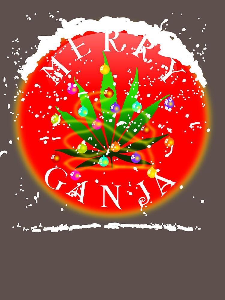 MERRY GANJA  by karmadesigner