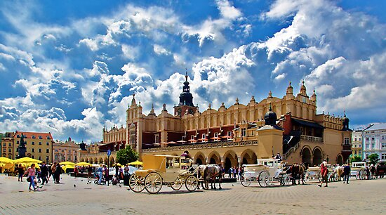 KRAKOW - TOWN SQUARE by Raoul Madden
