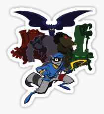 Sly Cooper and The Fiendish Five Sticker