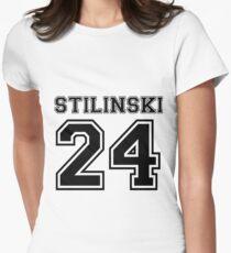 Camiseta entallada para mujer Stilinski 24