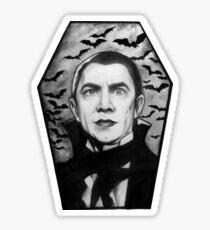 Bela Lugosi as Dracula Sticker