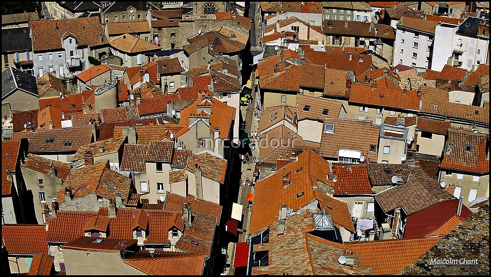 """"""" The Rooftops of Millau"""" by Malcolm Chant"""