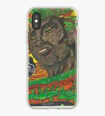 Vinilo o funda para iPhone Afro Colors - Abstract Painting