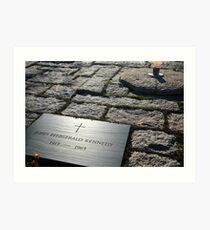 Rest In Peace Mr. President – Remembering John F. Kennedy Art Print