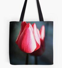 Reflective Rose Tote Bag
