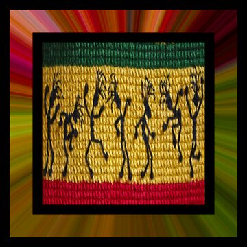 lively reggae dancers (square) by dedmanshootn