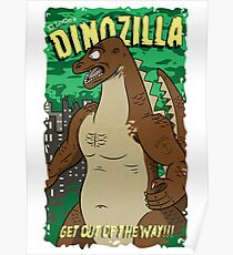 Dinozilla Poster