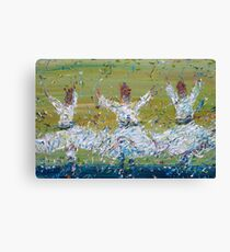 SUFI WHIRLING Canvas Print