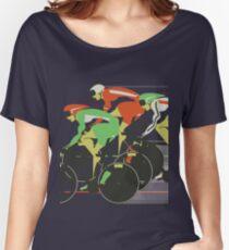 Velodrome bike race Women's Relaxed Fit T-Shirt