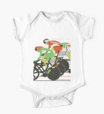 Velodrome bike race One Piece - Short Sleeve