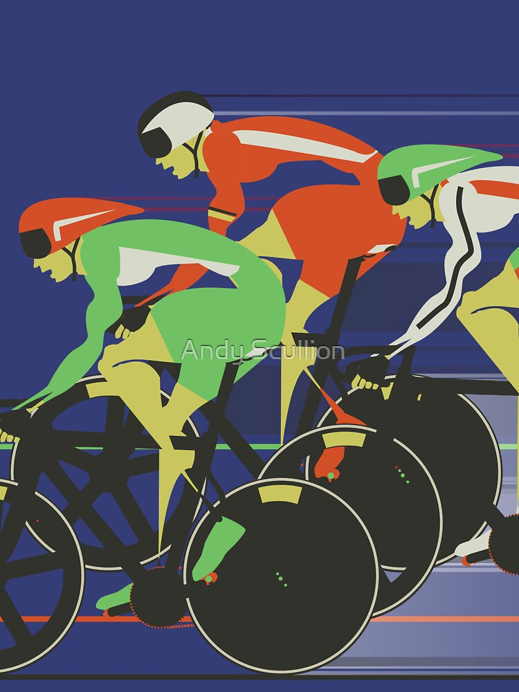 Velodrome bike race von AndyScullion
