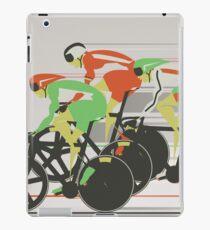 Velodrome bike race iPad Case/Skin