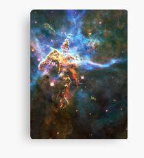 God's Domain | The Universe by Sir Douglas Fresh Canvas Print