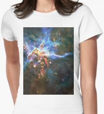 God's Domain | The Universe by Sir Douglas Fresh Women's Fitted T-Shirt