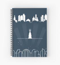 Beyond the doors Spiral Notebook