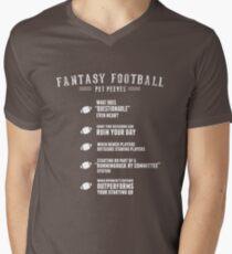 Fantasy Football Pet Peeves Men's V-Neck T-Shirt