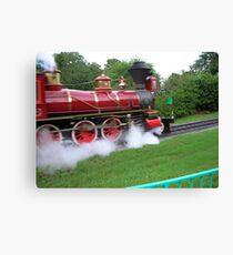 Disney World Steam Train Canvas Print