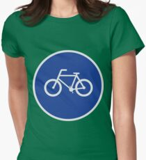 Bicycling Route T-Shirt