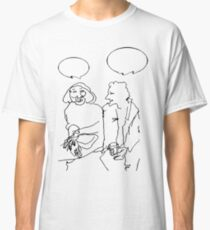 Ladies chatting Classic T-Shirt