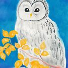Ural Owl by AngelArtiste