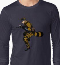 Tanooki Camouflauge Long Sleeve T-Shirt
