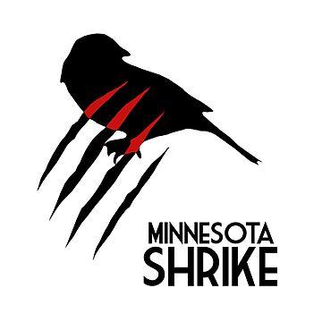 Minnesota Shrike Minimalist by exoticflaw