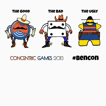 2013 #bencon – Good/Bad/Ugly Meeples by concentric
