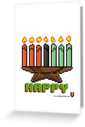 Happy Kinara - V:IPixels Holiday Collection by Victor  Dandridge