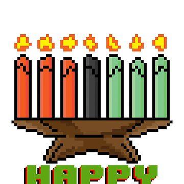 Happy Kinara - V:IPixels Holiday Collection by WizWorldInc
