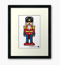 Nutcracker - V:IPixels Holiday Collection Framed Print