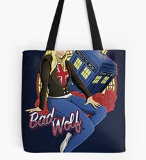 The Bad Wolf - Print Tote Bag