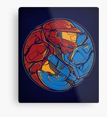 The Tao of RvB Metal Print