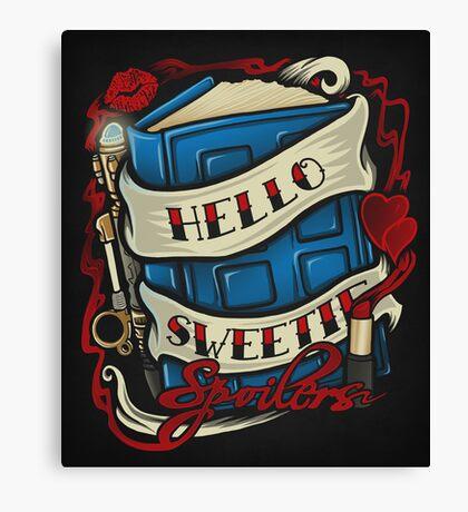 Hello Sweetie - Print Canvas Print