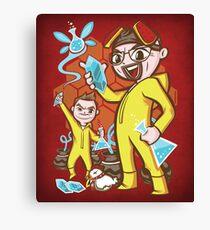 The Legend of Heisenberg - Print Canvas Print