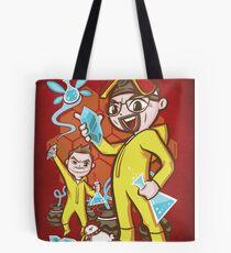 The Legend of Heisenberg - Print Tote Bag