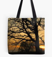 night..  as a sunset Tote Bag