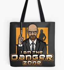 I am The Danger Zone - Print Tote Bag