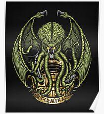 Cthulhu Exterminates - Print Poster
