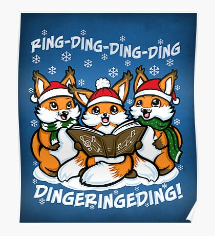 What does the Fox Sing - Print Poster