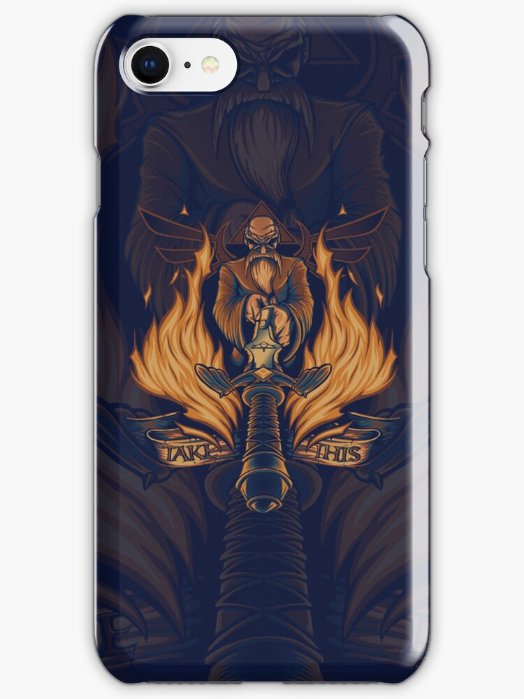 Take This - Iphone Case by TrulyEpic
