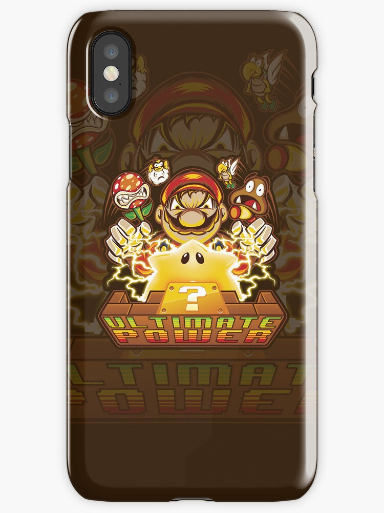 Ultimate Power - Iphone Case #1 by TrulyEpic