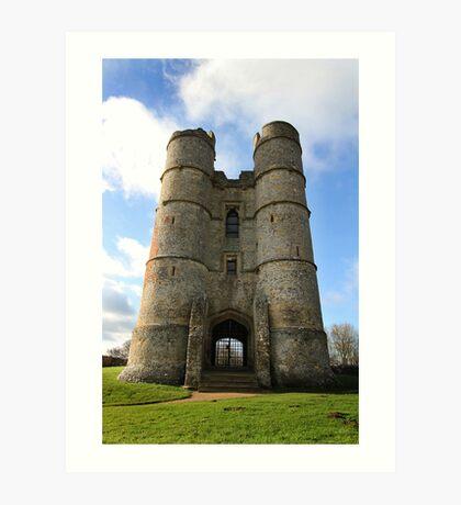 Donnington Castle Art Print