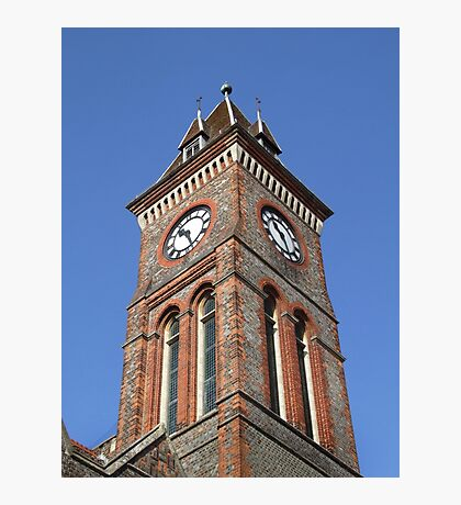 Town Hall Clock - Newbury Photographic Print