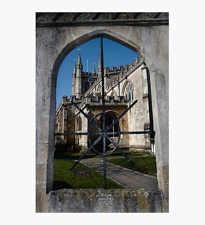 St Nick's Through The Window Photographic Print