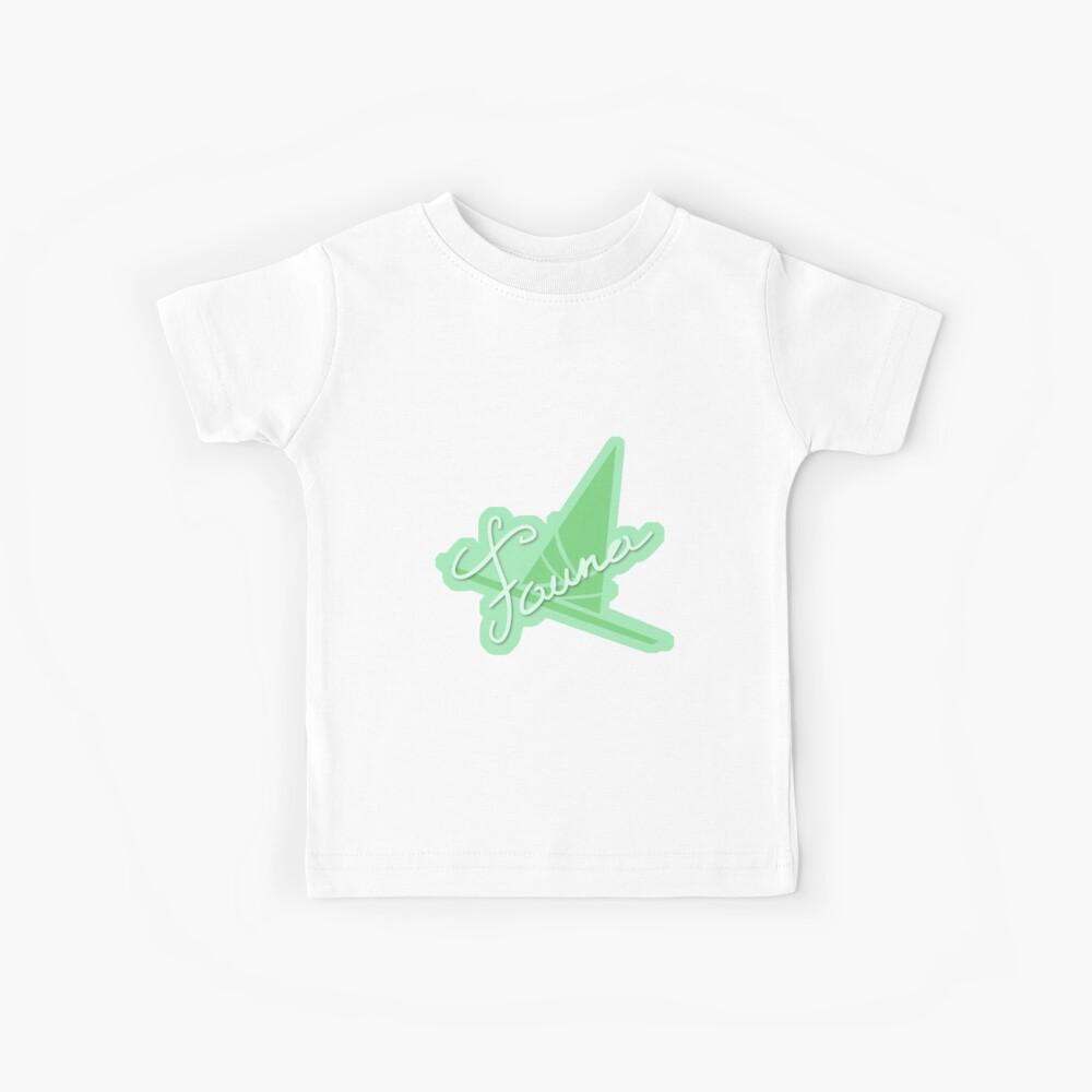Fauna Symbol & Signature Kinder T-Shirt