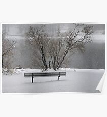 """""""Winters Bench"""" Poster"""