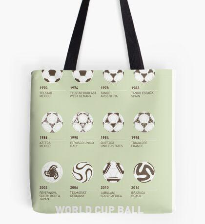 My Evolution Soccer Ball minimal poster Tote Bag