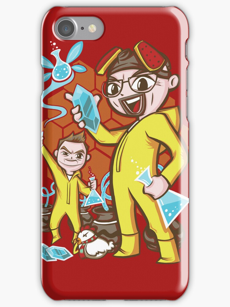 The Legend of Heisenberg - Iphone Case #2 by TrulyEpic