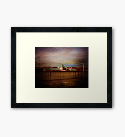 Eastern Correctional Facility at Napanoch New York Framed Print