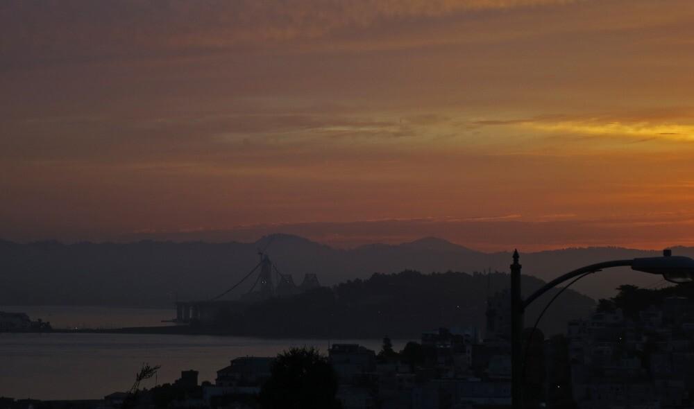 San Francisco Dawn by David Denny